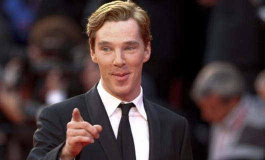 Benedict Cumberbatch pointed towards the fans