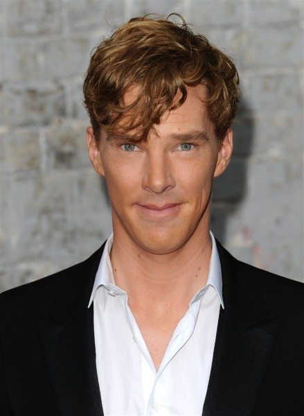 Benedict Cumberbatch with ginger red hair