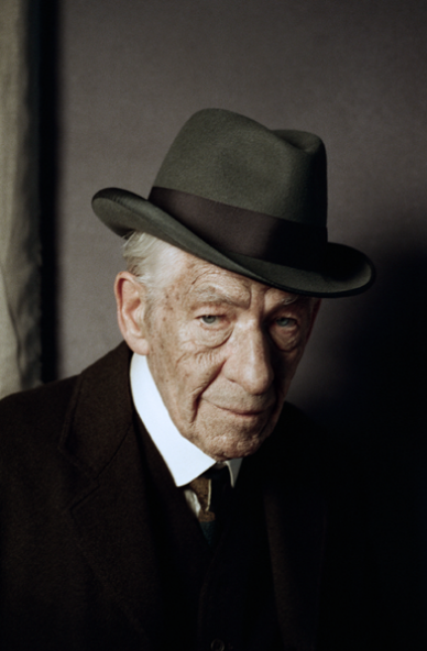 Ian McKellan as Sherlock Holmes for A Trick of the Mind