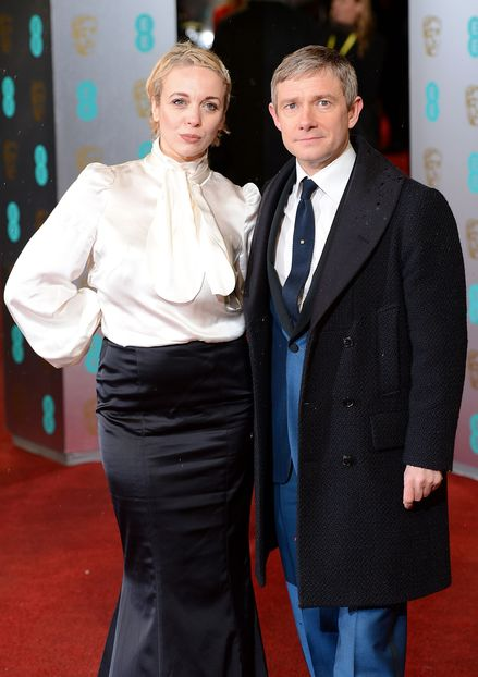 "If that's what John Watson is wearing to his wedding, Sherlock, call the Fashion Police. I'm not certain which is worse. The coat which makes him look short and squat like photos of my immigrant grandfather coming off the boat. Or the 1970's baby blue tux which screamed ""lounge act"" on The Pips. I'll just hope it's a bad photo... John, let Sherlock dress you for the big occasions, okay?"