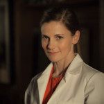 Louise Breasley as Molly Hooper on BBC Sherlock